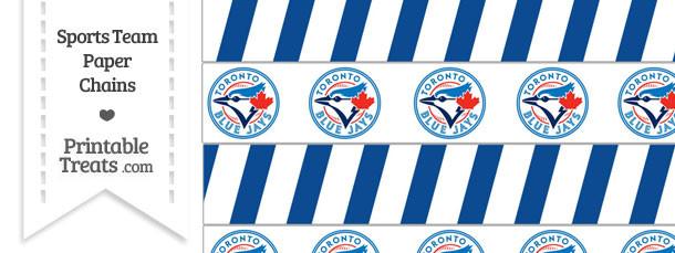 Toronto Blue Jays Paper Chains