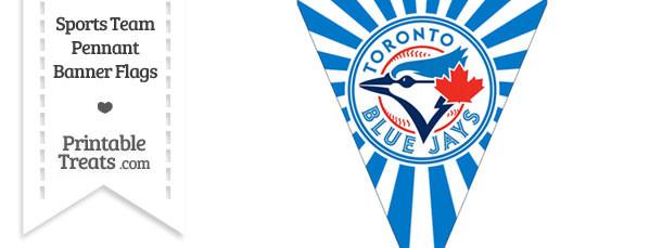 Toronto Blue Jays Pennant Banner Flag