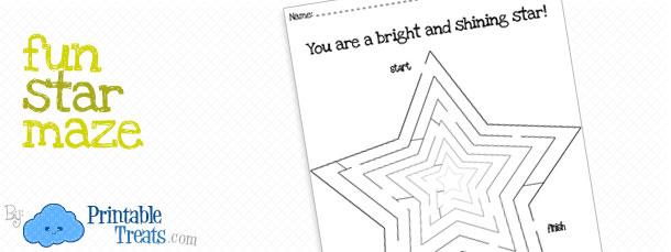 fun-star-maze