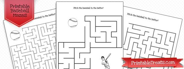 printable-baseball-maze-game