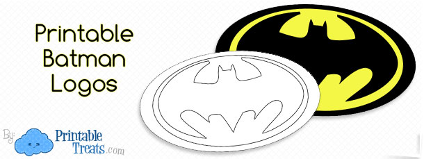 photo relating to Batman Symbol Printable named Superior Printable Batman Brand Printable