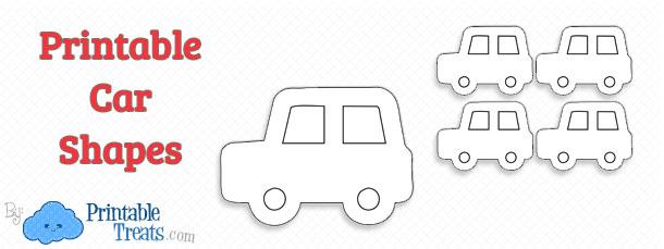 printable-car-shape-templates