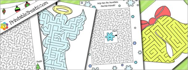 printable-christmas-maze