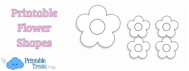 Printable Flower Shapes To Cut Out