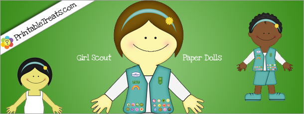 Girl scout japanese paper dolls — pic 10