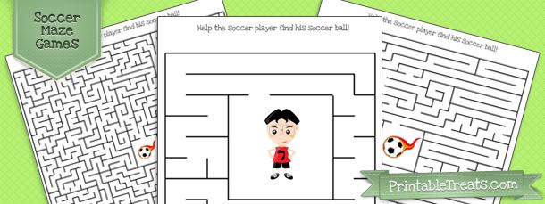 printable-soccer-maze-games