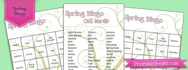 spring-bingo