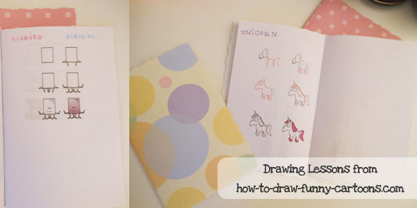 child sponsorship gift ideas drawing book