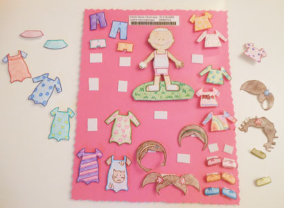 child sponsorship gift ideas paper doll