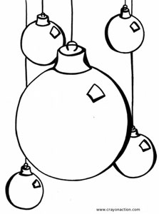 blank ornament coloring pages - photo#15