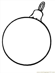 25 Christmas Ornament Coloring Sheets to Print — Printable Treats.com