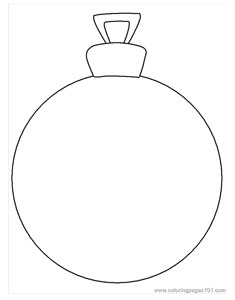 Search Results For Blank Christmas Ornaments Coloring Blank Ornament Coloring Page