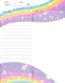 graphic relating to Printable Stationary for Kids named No cost Printable Stationery Printable