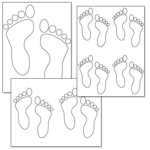 Free Printable Footprint