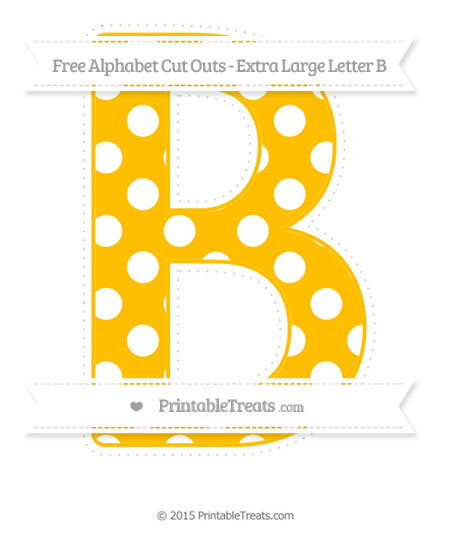 Large poster size letter cutouts