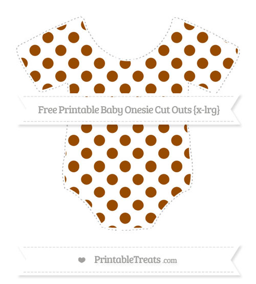 Free  Extra Large Baby Onesie Cut Outs