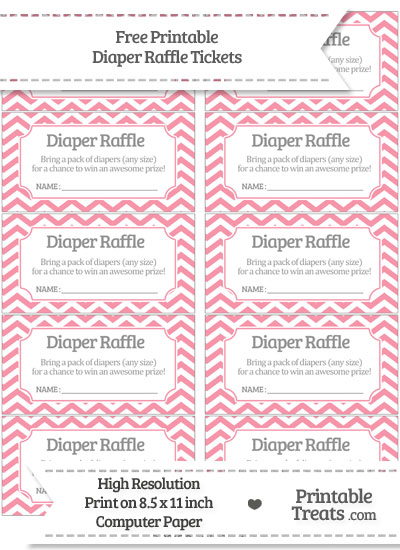 Don't forget to print out the matching diaper raffle ticket signs I ...