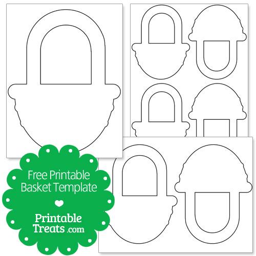 Free Printable Basket Template — Printable Treats.com