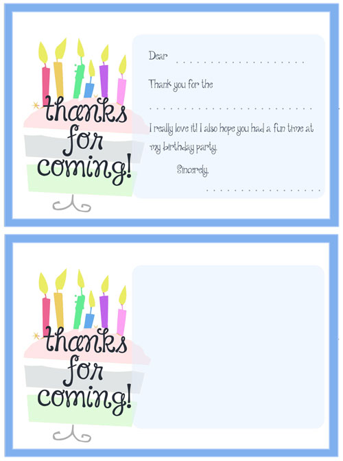 printable cake thank you cards printable treats com