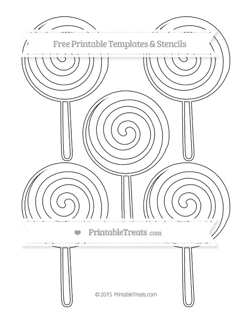 swirl lollipop coloring pages