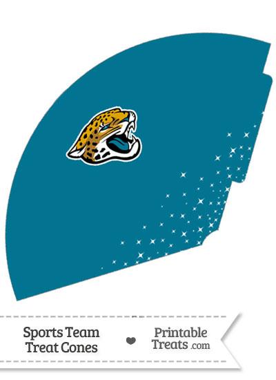 Jaguars Treat Cone Printable from PrintableTreats.com