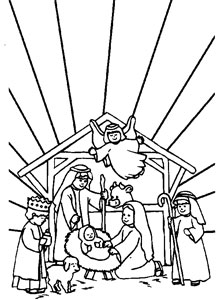 20 Jesus Coloring Pages for Kids  Printable Treatscom