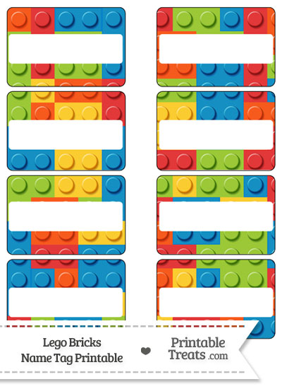 Exhilarating image intended for free printable lego labels