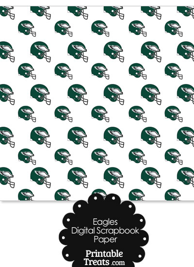 Philadelphia Eagles Craft Paper