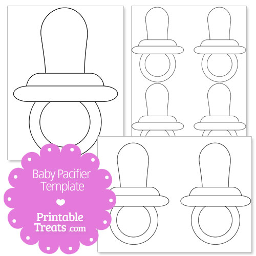 Baby Bottle Template Printable Pictures to Pin on ...