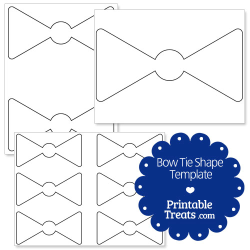 Pin Bow Tie Coloring Template on Pinterest