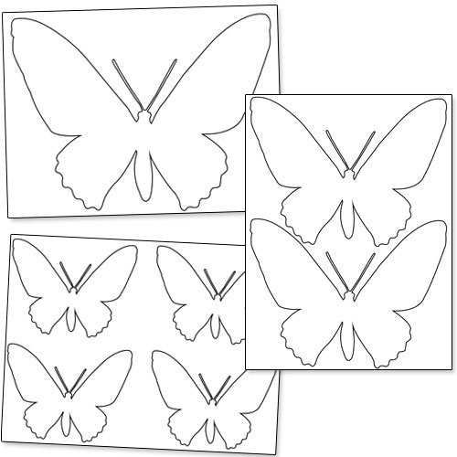Printable Butterfly Patterns Printable Treatscom