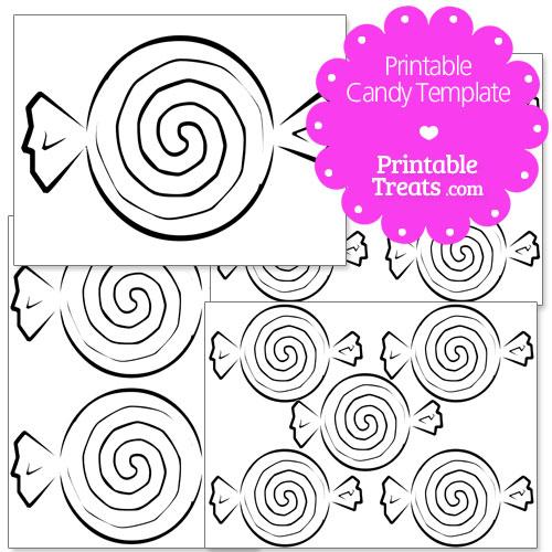 Printable Candy Templates — Printable Treats.com