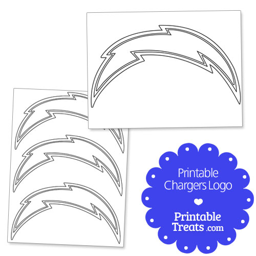 Chargers Logo Outline Printable Chargers Logo