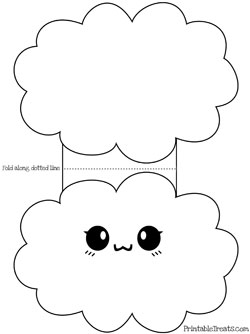 printable cloud card template