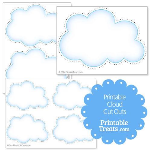 printable cloud cut outs printable treats com