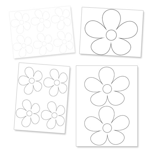 daisy flower images template - photo #24