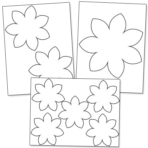 graphic relating to Flower Outline Printable identify Printable Flower Determine Printable