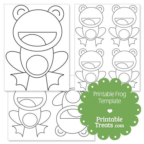 free printable frog templates - Romeo.landinez.co