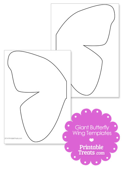Butterfly wings template - photo#16