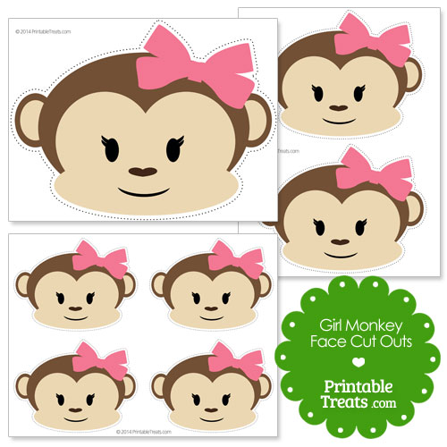 baby monkey clipart baby monkey template baby monkey template free