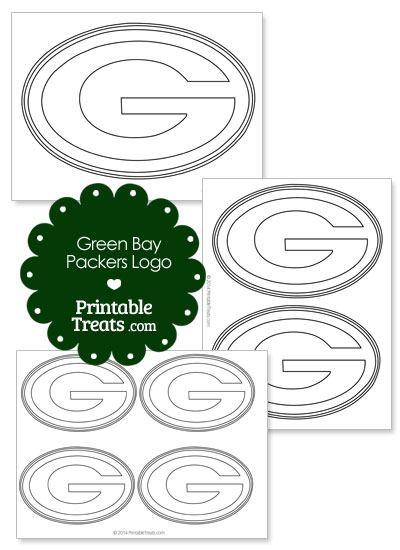 image relating to Green Bay Packers Printable Logo known as Printable Inexperienced Bay Packers Emblem Template Printable