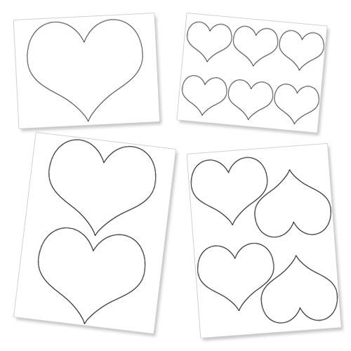 Outline Printables Printable Heart Outline