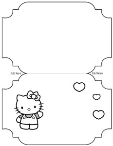 free card making templates printable