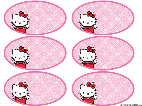 Free Hello Kitty Printable Name Tags New Calendar