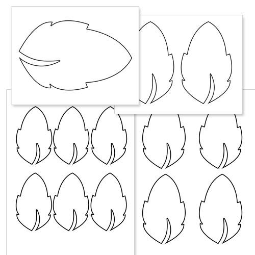 picture regarding Leaf Shapes Printable identify Printable Leaf Designs Printable