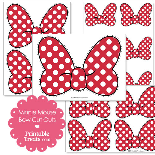 Astounding image regarding minnie mouse bow printable