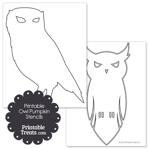 Printable owl stencils - photo#27
