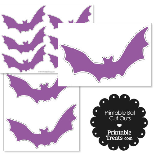 photograph about Printable Bats identified as Printable Crimson Bat Lower Outs Printable