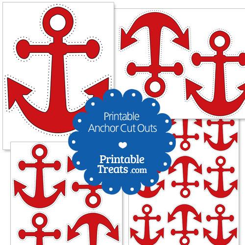 picture regarding Printable Anchor called Printable Purple Anchor Reduce Outs Printable