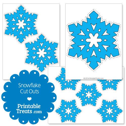 Snowflake Calendar Printables : Printable snowflakes cut out search results calendar